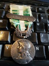 Morocco commemorative medal (1909) With MAROC Clasp --FOREIGN LEGION MEDAL -