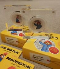 60 Years of Paddington Bear 2018 UK Silver Proof Coins - At the Station / Palace