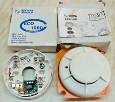 ECO 1003 Photoelectric Optical Smoke Detector & ECO 1000 Relay Base Ref 412897