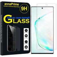 1 Film Verre Trempé Protecteur Écran Samsung Galaxy Note10+ Plus/ Note 10 Pro