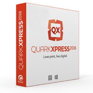 QuarkXPress 2016 - For Windows