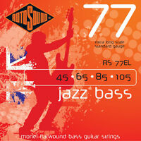 Rotosound RS77EL Jazz Flatwound XL Extra Long Scale Bass Guitar String 45-105