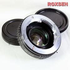 Focal Reductor velocidad Booster adaptador Minolta Md Monte Lente Micro 4/3 GX7 GF6