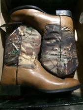Old West Women's Western Cowboy boots Camo 1916Y Size 4 5 6