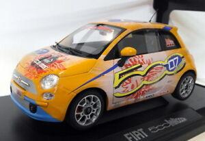 Norev 1/18 Scale - 187732 Fiat 500 WROOM Schumacher 7 Times World champion