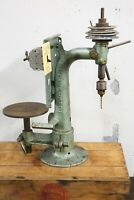 Antique Burke Machine Tool blacksmith drill press vintage machinist industrial