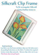 Silkcraft Plastic frame for painting Silk Painting Gutta Outlines