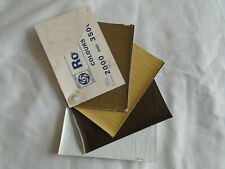 Rover 2000 & 3500 Colours swatch brochure Oct 1971 ref 731/10.71 small format