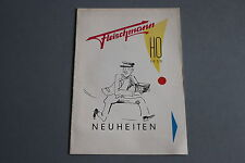 X039 FLEISCHMANN Train catalogue Ho 1959 20 pg 21*15 D Katalog Neuheiten