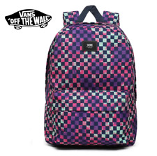 Vans OLD SKOOL III Backpack - Multi Color Purple Checkerboard