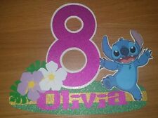 Lilo and stitch cake topper personalised birthday cake centrepiece