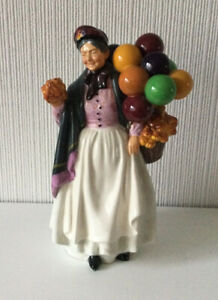 Royal Doulton Figurine - 'Biddy Penny Farthing ' HN 1843