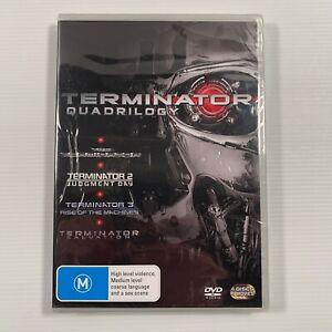 Terminator - Quadrilogy (DVD, 2009, 4-Disc Set) Arnold Schwarzenegger Region 4