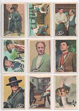 ZORRO Parkhurst 1958 COMPLETE (50/50) CANADA CARD SET !!!