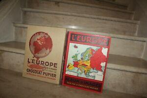 Album d'images Pupier L'Europe (complet) avec son emballage cartonné