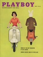 PLAYBOY JUNE 1959 Mr. Playboy Marilyn Hanold Scooters cover Oriental Sex (2)