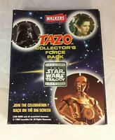 Walkers The Star Wars Trilogy Edition Tazo Collectors Pack, Incomplete-3 missing