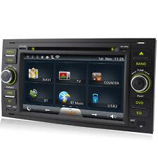 "A-Sure Double DIN 7"" Car Radio DVD Stereo GPS SatNav Ford Transit/Galaxy/Kuga BT"