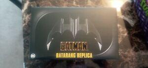 NECA BATMAN 1989 MOVIE BATARANG REPLICA W/ STAND EXCLUSIVE NEW IN HAND UNOPENED