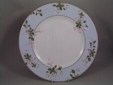 WEDGWOOD BLUE WILD STRAWBERRY BLOOM DINNER PLATE, NEW, 2nd