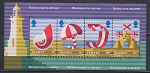 Jersey 1975  Tourism Sc 127a Complete Mint Never Hinged