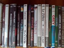Gros lot de 68 DVD divers tous types tous NEUFS presque tous sous cello