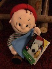 Applause Kohl's Peanuts Winter Linus Bean Bag Plush