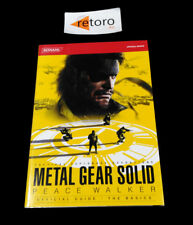GUIDE BOOK METAL GEAR SOLID PEACE WALKER PSP Official guidebook The Basics JAP