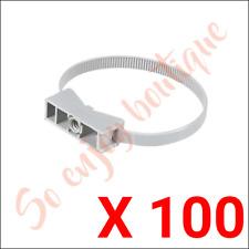 SAREL 960 - 100 colliers de serrage instacables pour conduits IRL Ø40-63 mm
