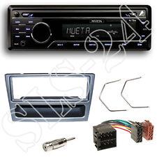 Mueta a4 CD USB SD radio FM set Renault Trafic II diafragma antracita + adaptador ISO