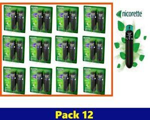 Nicorette QuickMist Freshmint 1mg 2x150 Spray 12 Pack January 2023