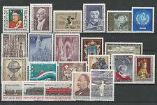 Österreich  Jahrgang 1977 postfrisch komplett