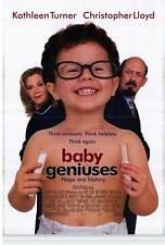 BABY GENIUSES Movie POSTER 27x40 B Kathleen Turner Christopher Lloyd Kim