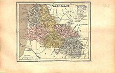Département du Pas-de-Calais Arras Puy-de-Dôme Clermont-Ferrand MAP CARTE 1873
