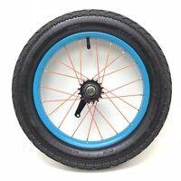 "16"" FAT BIKE Rear Bicycle BLUE Wheel w/ Coaster Brake & 3"" Tire Bike #992"