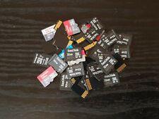 5 x tarjetas de memoria 32GB Micro Sd A GRANEL Lote de Trabajo mezclar marcas