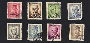 Czechoslovakia 19451947 Personalities (D3)