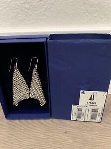 Swarovski Fit Crystal Pierced Chandelier Earrings  976061 Cryssha in J Lo video