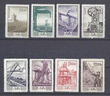 PR China 1954 S8 Sc#214-221 Economic construction ,MLH. NGAI.