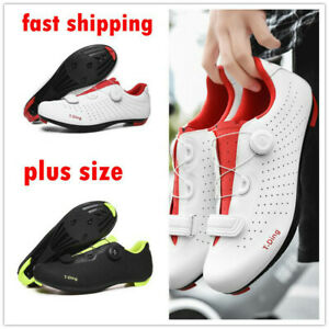 Professional Bicycle Sneaker Men Bike Clip-in Cycling Shoes SPD-SL Peloton Cleat