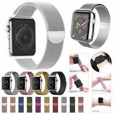 Bracelet Pour Apple Watch Milannese Loop Bracelet en Acier Inoxydable