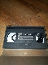 3 VHS movies THE CROW, THE SWORDSMAN, AND MORTAL COMBAT in hard case