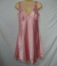 Slips Xs Nwot Victoria`s Secret Stunning Halter Lace Babydoll Slip Red Cherry Wood 3yu Bright In Colour