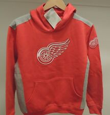 NHL Hockey Detroit Red Wings Hooded Sweatshirt New Youth X-LARGE