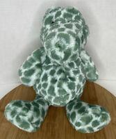 Jellycat Dapple Crocodile Spotted Plush Stuffed Animal Alligator Green White