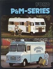 1974 Ford P & M Series Parcel Delivery Motor Home Truck Sales Brochure