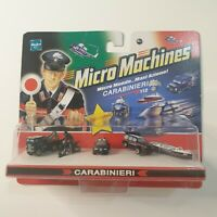 MICRO MACHINES micromachines carabinieri bus bike car  hasbro 2006 New sealed