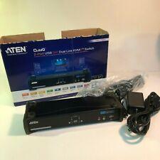 ATEN KVM CS1784A 2-Port USB DVI Dual Link 7.1CH Audio KVMP Switch