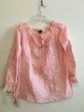 Romeo + Juliet Couture Off shoulder Soft pink Women Top Blouse Stylish Size M