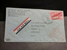 APO 562 BRUSSELS, BELGIUM 1945 WWII Army Cover CHANOR BASE Section